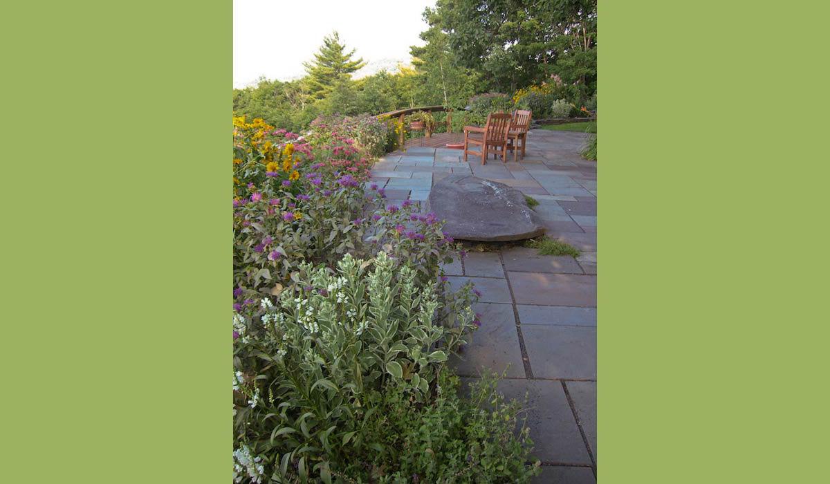 Ashokan Garden Landscape in the Hudson Valley
