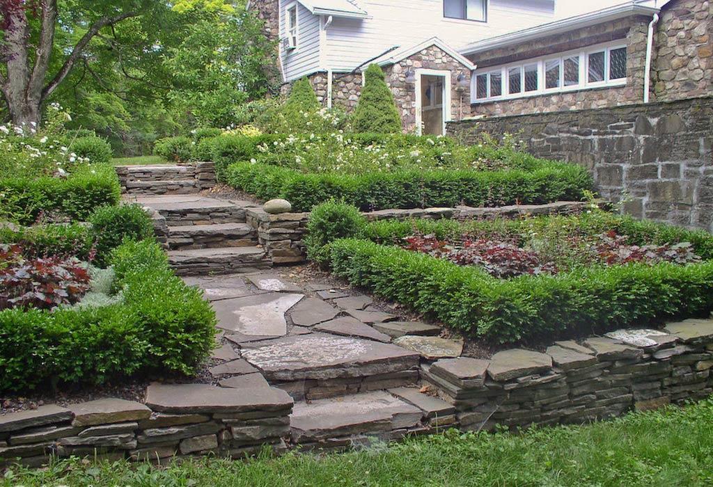 Formal Garden in Saugerties, NY