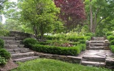 Formal Garden in Saugerties, NY