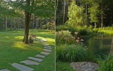 Hudson Valley Garden and Pond Planting