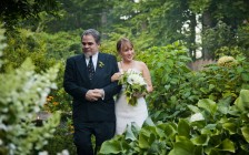 Wedding in the Garden – Hudson Valley, NY