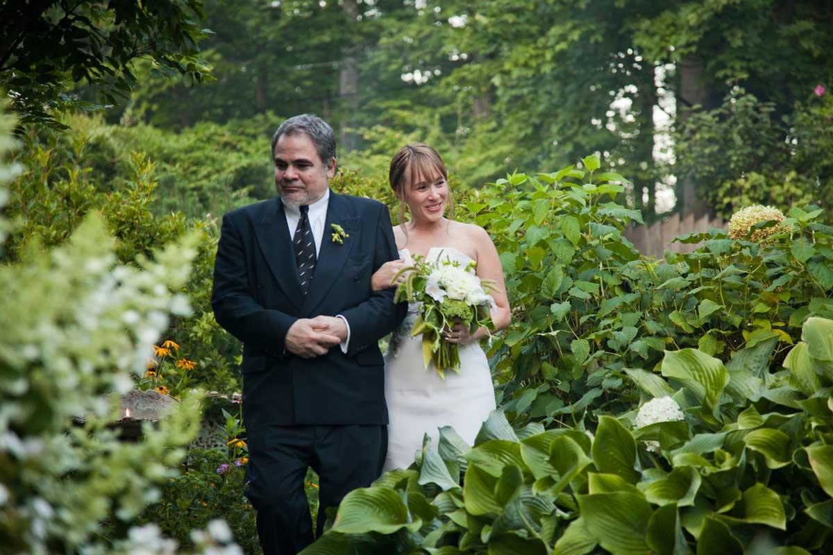 Wedding in the Garden – Hudson Valley, NY