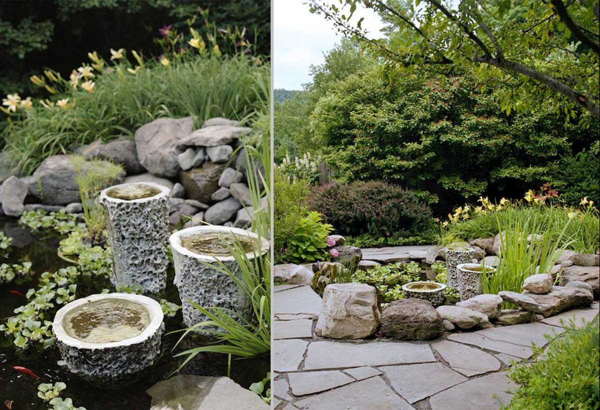 garden design ideas with stones photo 11 garden design with
